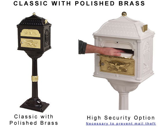 Post Mount Locking Mailboxes Mailboxes Residential