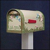 Special Lite Mailbox - Hummingbird-Textured Natural