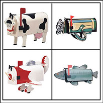 Novelty Mailboxes - More Than A Mailbox